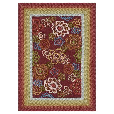 Loloi Rugs Zamora Red Outdoor Area Rug Rug Size:
