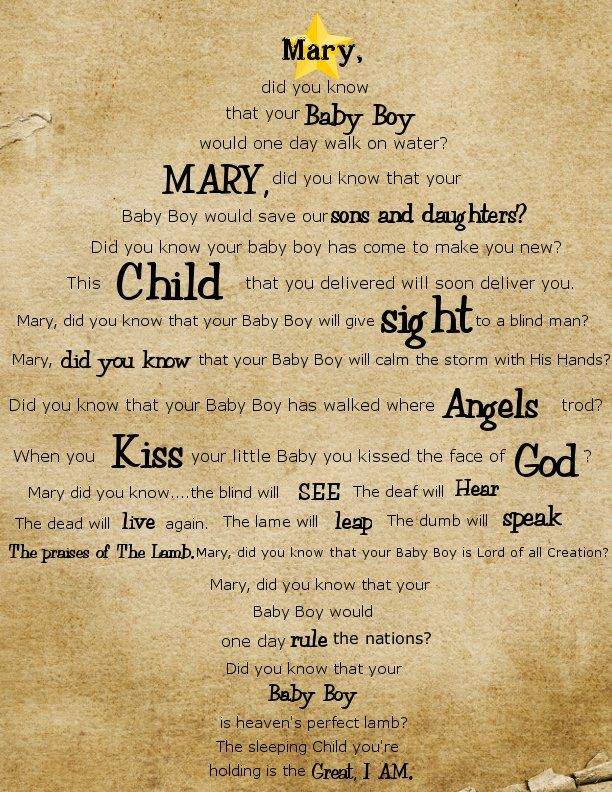 photograph regarding Mary Did You Know Lyrics Printable named Purchase Your Crap Jointly: Xmas Printable: Mary Did Your self