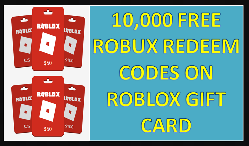 Roblox Robux Redeem Code - New Roblox Promo Codes 2019 Free Gift Card 2019 In 2019