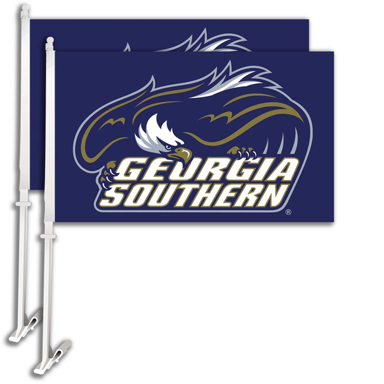 Design car flags - Georgia Southern Eagles Car Flag Set Of Two Design 2