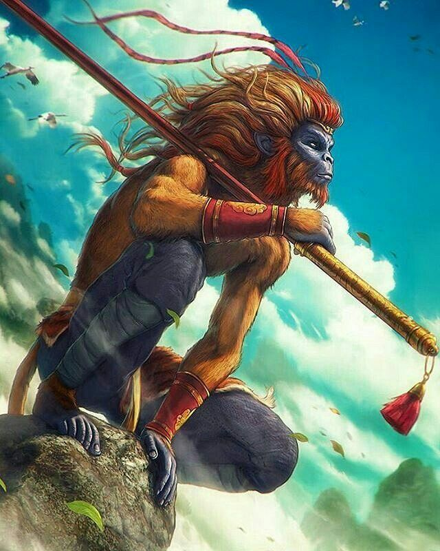 3132170b7 Wukong... The legend | myth | Monkey king, Fantasy art, Art
