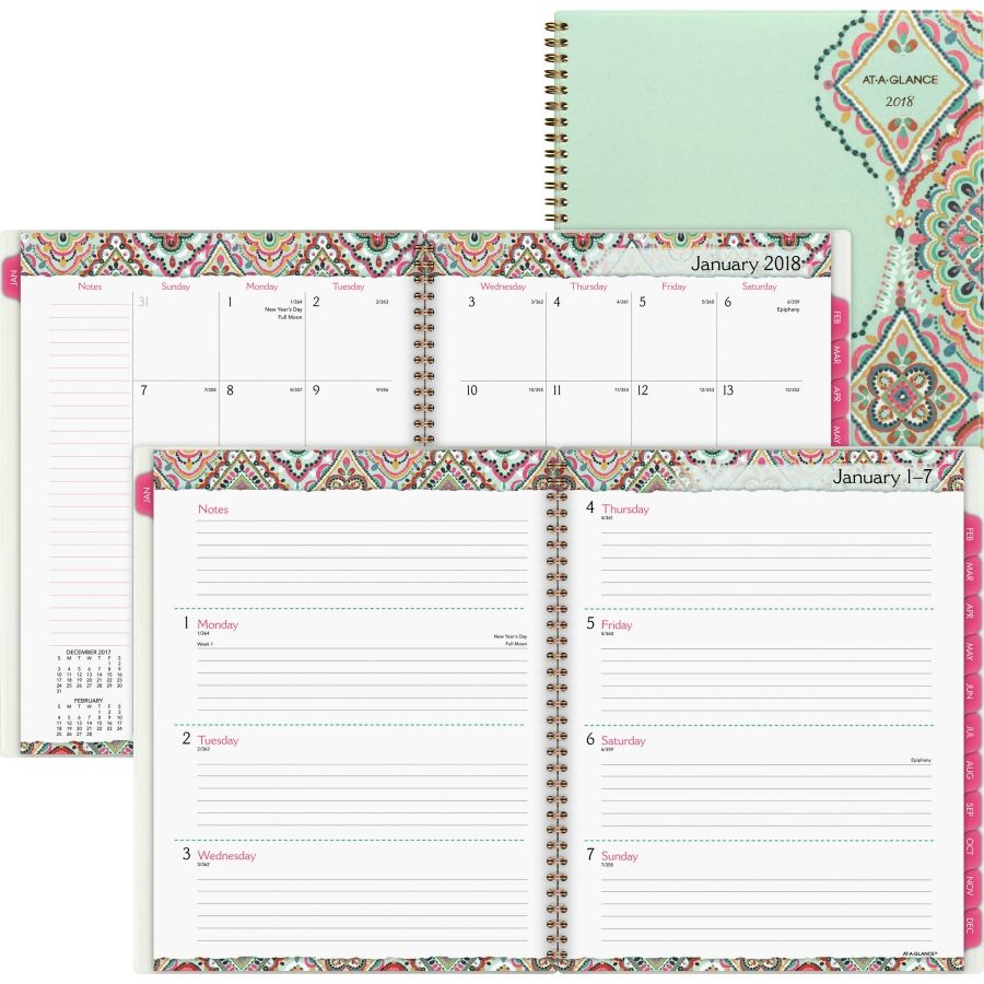 At A Glance Marrakesh Weekly Monthly Planner Plan Out Each Week