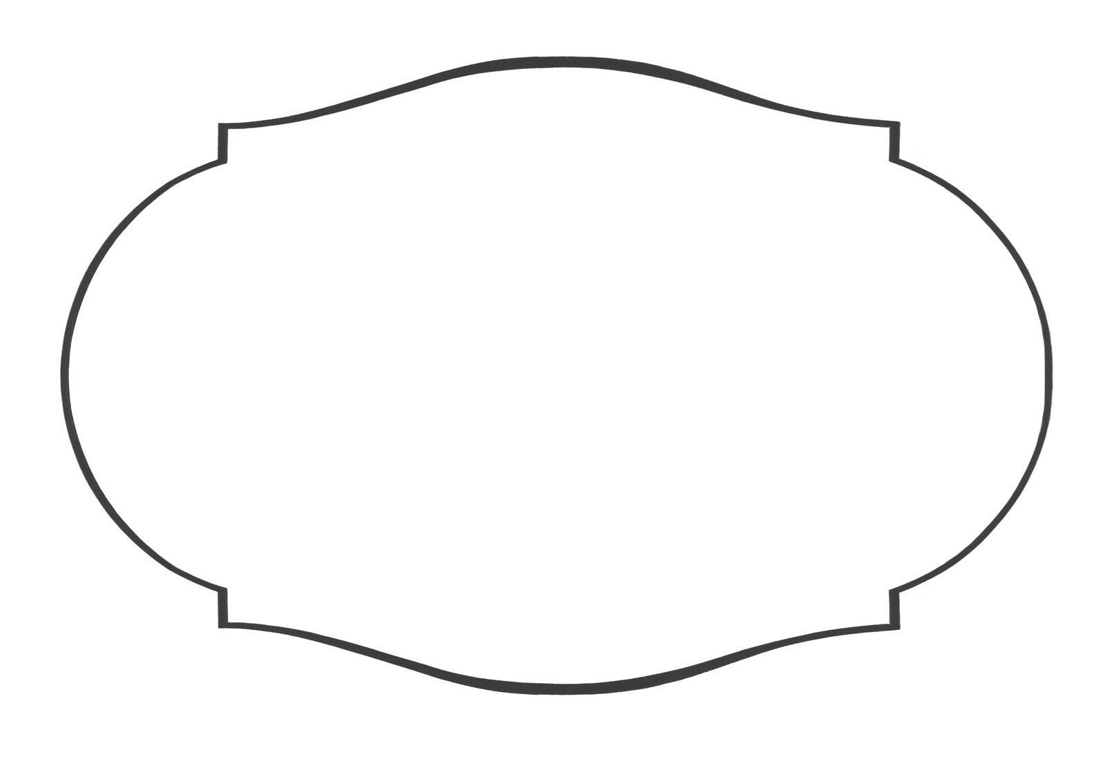 Clip Art Label Shapes