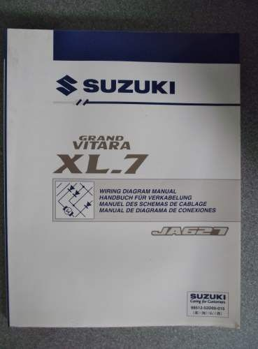 suzuki grand vitara xl 7 wiring diagram manual 2001 9951252d00015 suzuki grand vitara xl 7 wiring diagram manual 2001 9951252d00015 on ebid united kingdom