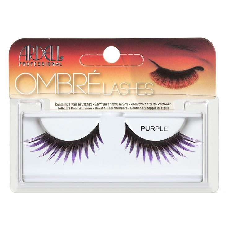 Ombré Purple #madamemadeline  #ardellombre #ardelllashes #ombrepurple