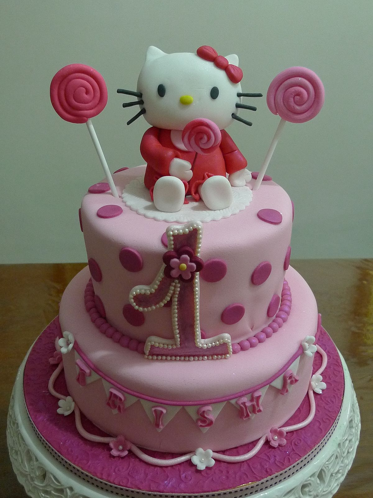 Decor Cake Hello Kitty : Hello Kitty Cake Decorations Images my kitty favs ...