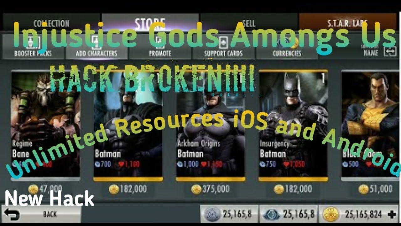 Injustice God 39 S Among Us Glitch V3 2 Hacked Mod Download