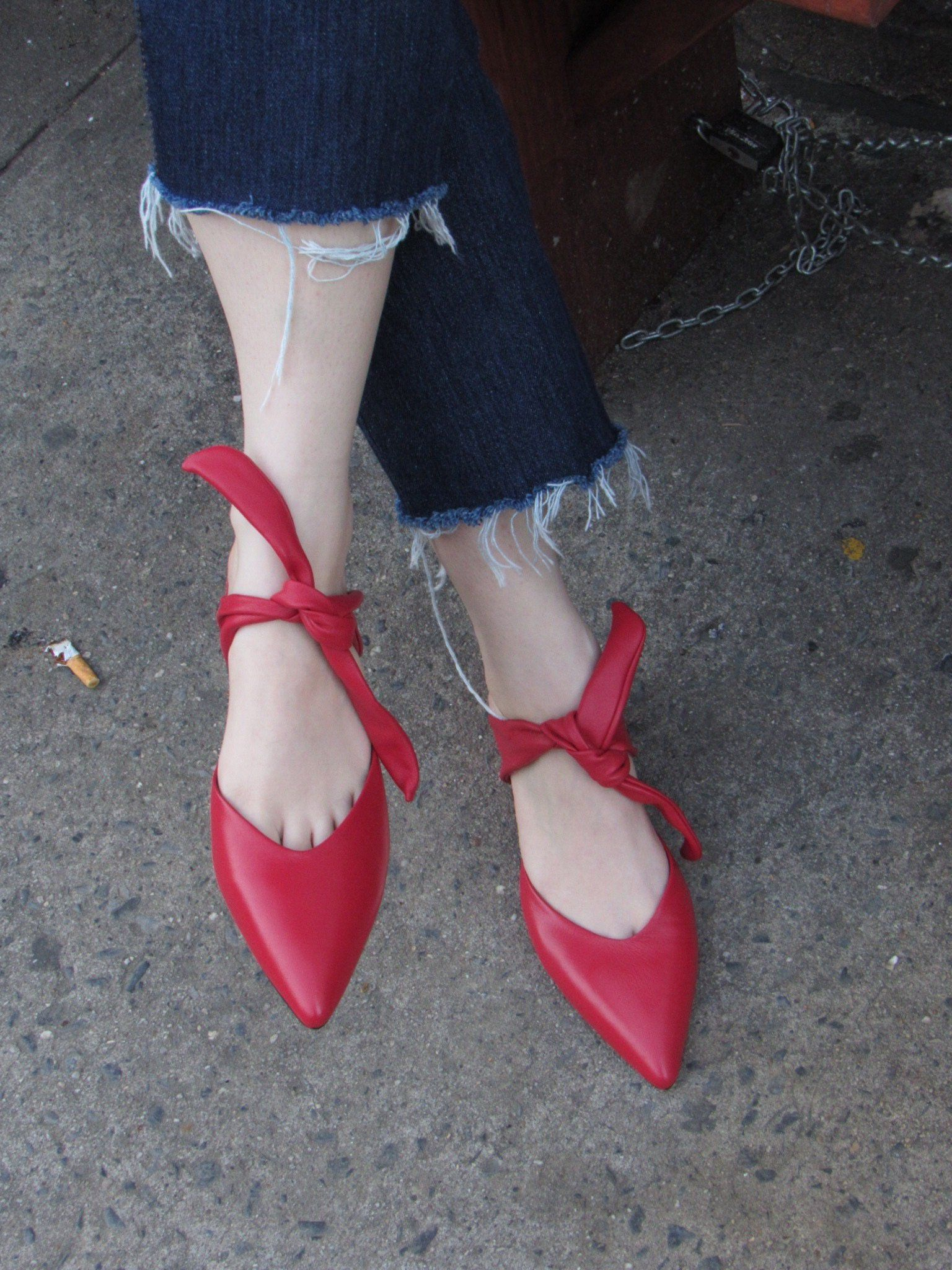 ae64f078f21 Sol Sana Arkley Heel in Red