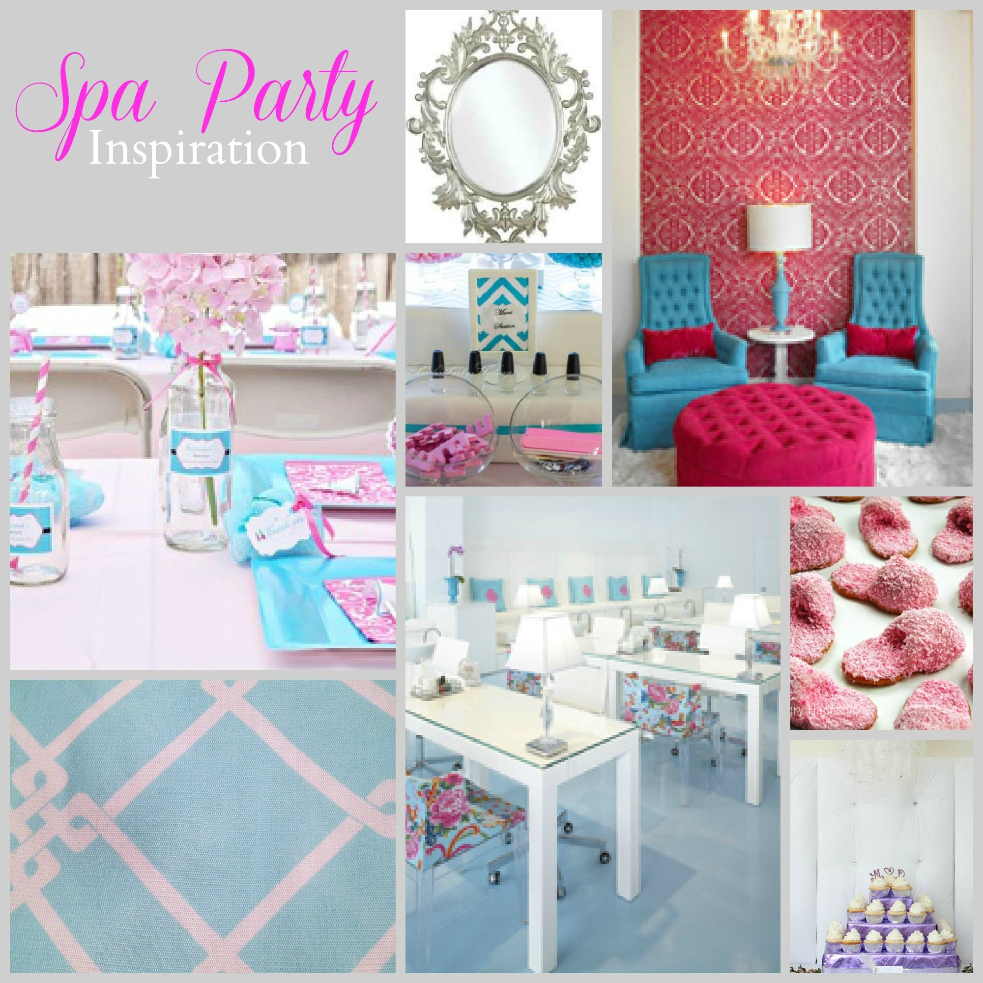Kids spa party, Pajama party and Spa birthday parties