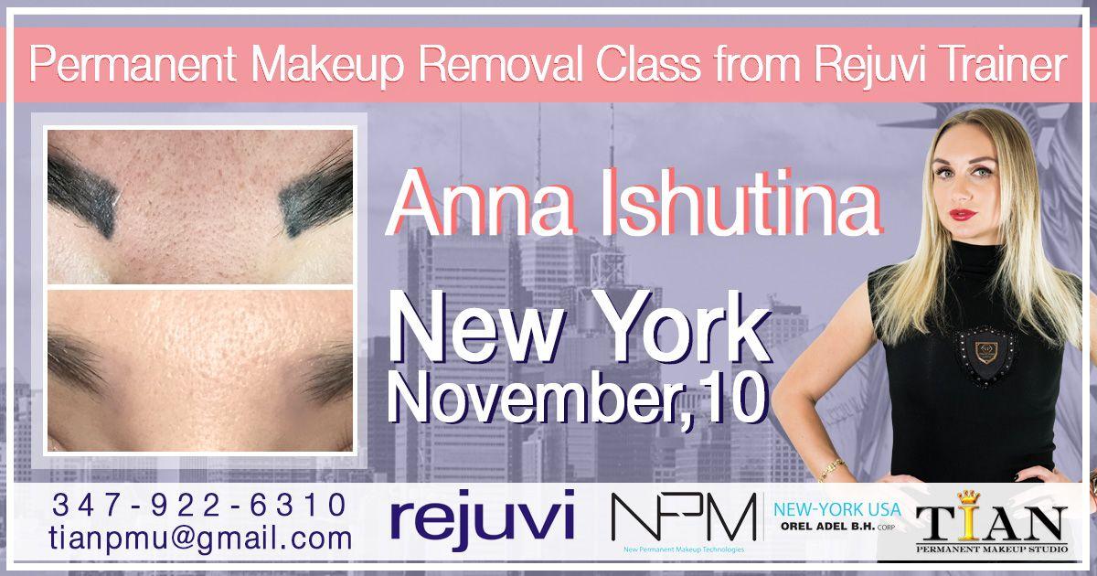 Permanent Makeup Removal Class ※※※ TIAN Studio New York