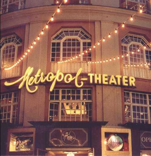 Metropol Theater Berlin Berlin Broadway Shows