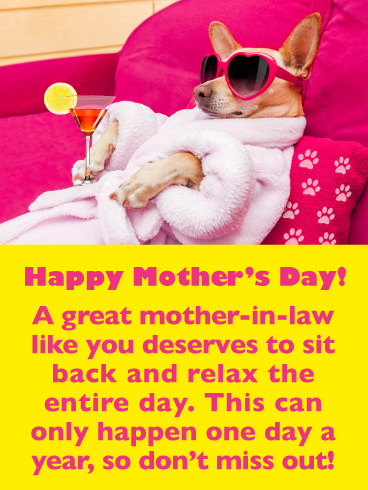 Don T Miss Out Happy Mother S Day Card For Mother In Law Birthday Greeting Cards By Davia Happy Mothers Day Happy Mother S Day Happy Mothers