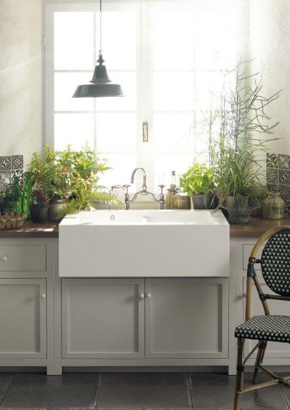 Skandinavische Landhausküche Ideen, Bilder, Tipps für die Planung - küchen in grau