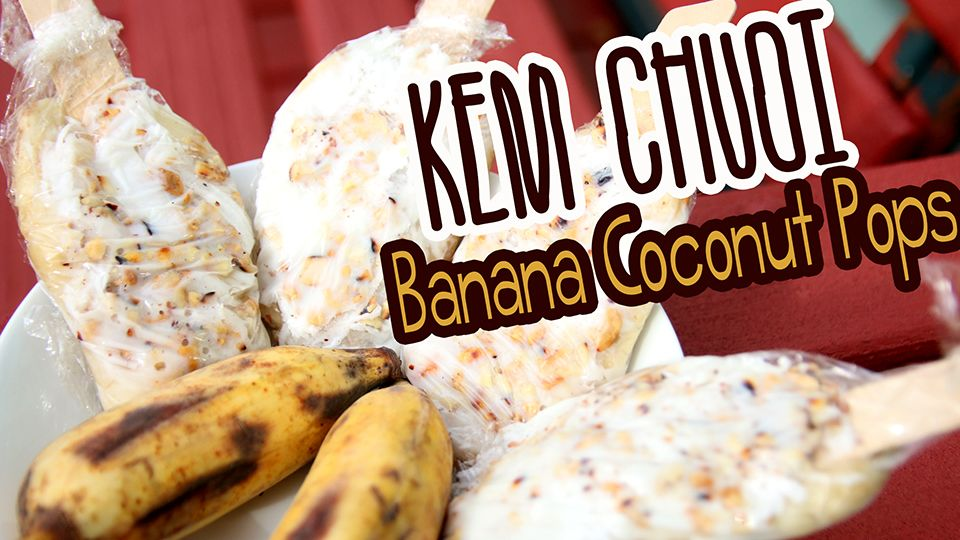 Cooking With Mom: Kem Chuoi {Banana Coconut Pops}