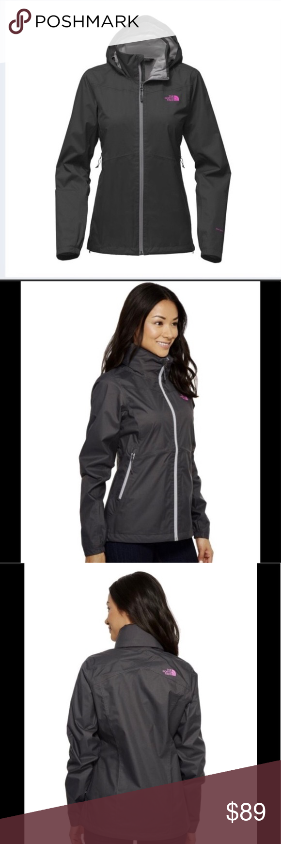 8b9932815 The North Face Resolve Plus Jacket TNF Resolve Plus Windbreaker ...