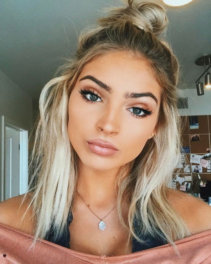 blonde hairstyle | Makeup | Pinterest | Edgy hairstyles, Blonde ...