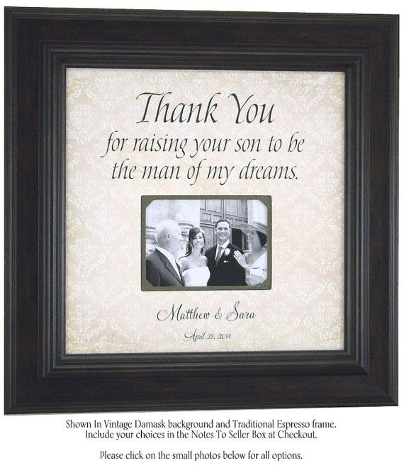 Parents of the Groom Personalized Picture by PhotoFrameOriginals ...