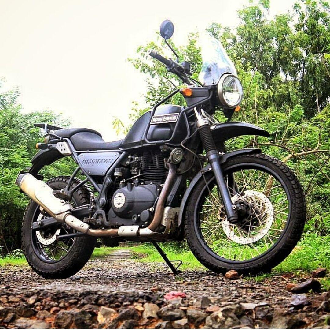 RoyalEnfield Himalayan Adventure bike from Bangalore