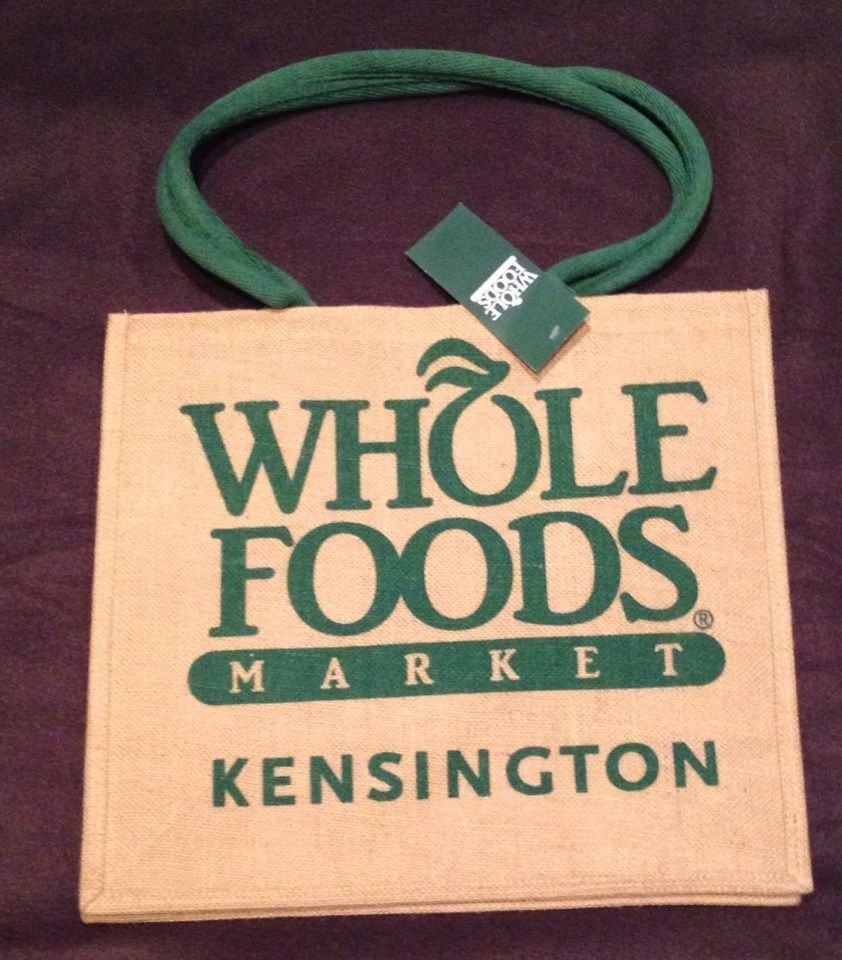 Whole Foods Jute Bag