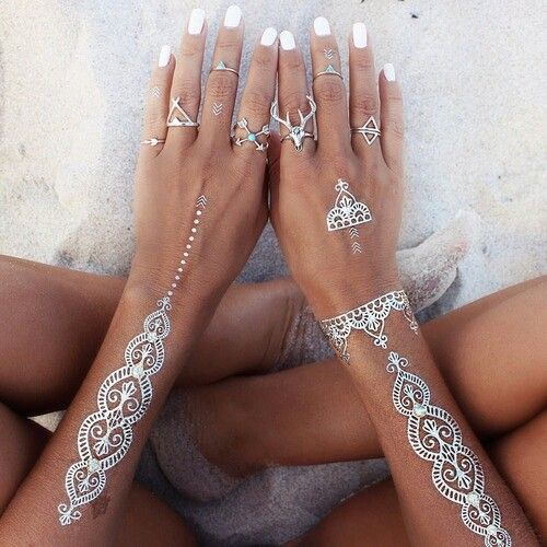 flashtattoos are THE perfect way to accessorize absolutely ANY