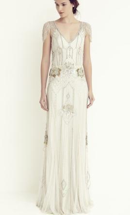 Jenny Packham Eden Wedding Dress Used Size 10 2 425 Art Deco Wedding Dress Deco Wedding Dress 1920s Wedding Dress