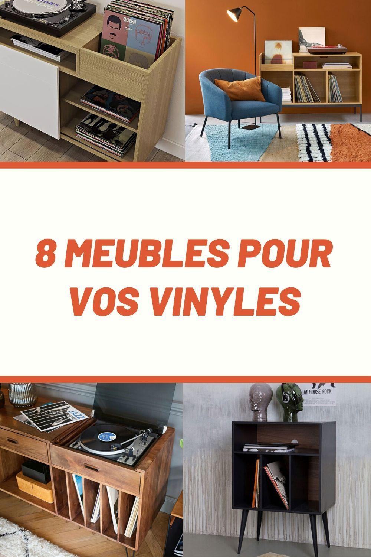 Meuble Vinyle Quel Modele Choisir Pour Un Interieur Au Look Vintage Meuble Vinyle Mobilier De Salon Et Vinyle