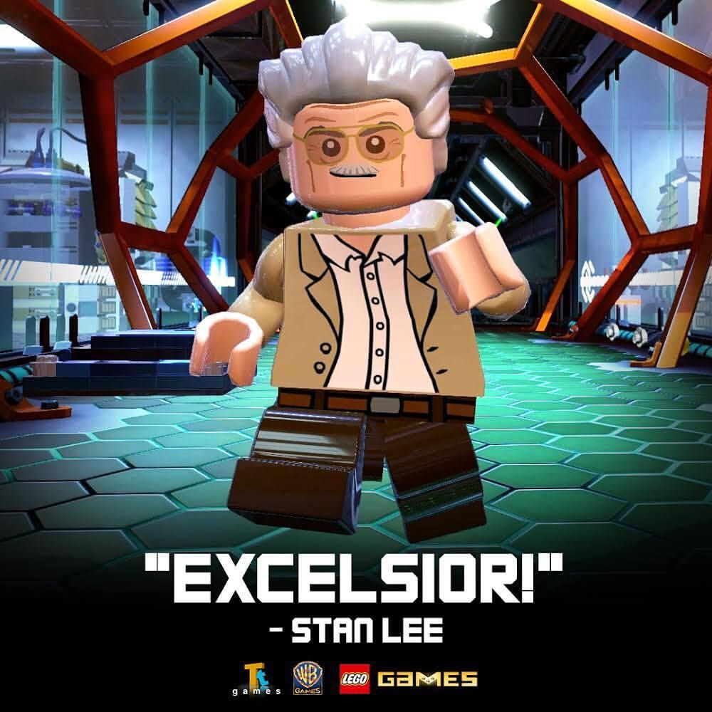 Lego On Instagram Remembering The Legendary Stan Lee Excelsior Lego Marvel Lego Marvel Superheroes 2 Lego Marvel Super Heroes