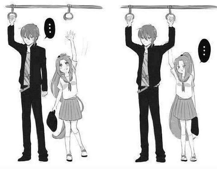 Прикольные картинки аниме девушек и парней, днем рождения анимации