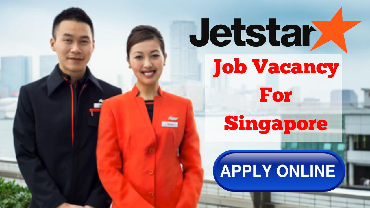 JetStar careers - Cabin Crew Vacancy for Singapore  cabin