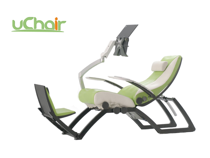 uChair: The World's First Integrated Ergonomic PC Chair | Indiegogo