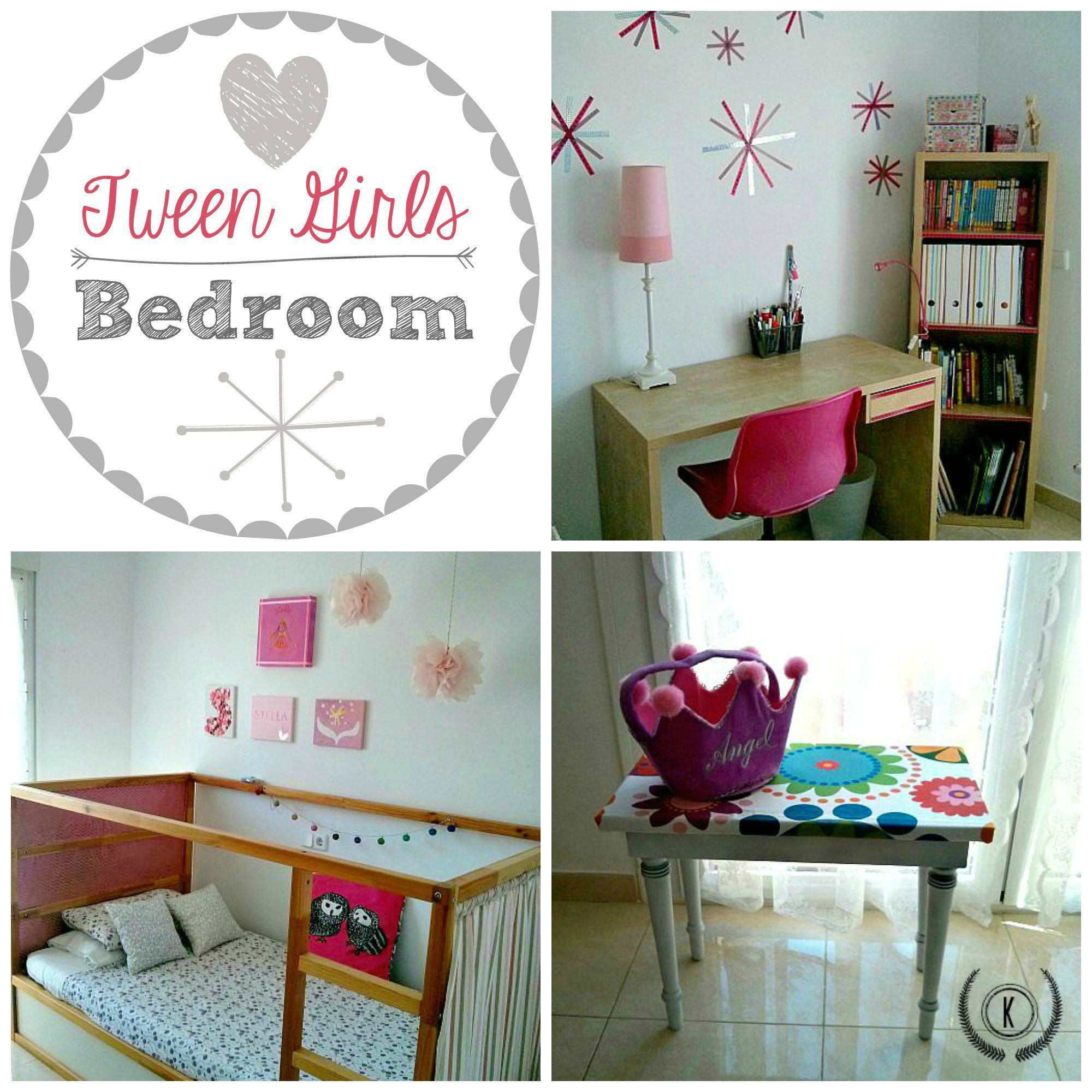 Do You Want To Decorate A Tween Girls Bedroom Here