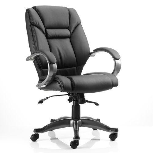 High-Back Executive Chair Home & Haus Colour: Black