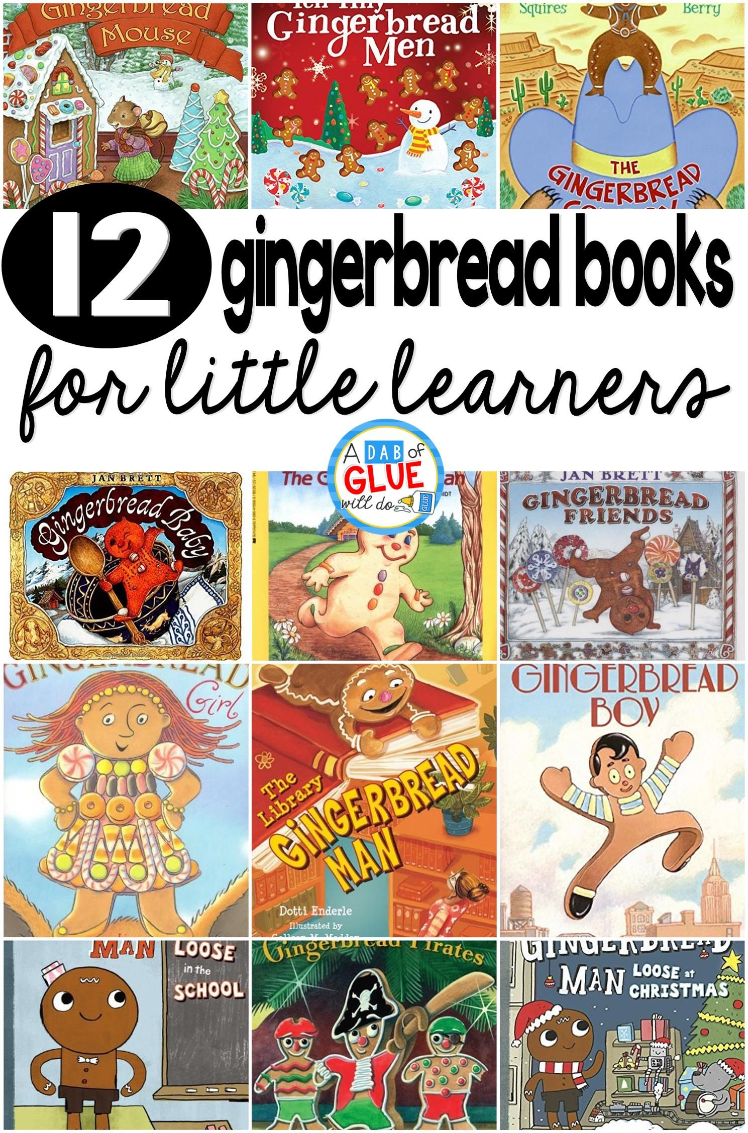 12 Gingerbread Books For Little Learners With Images