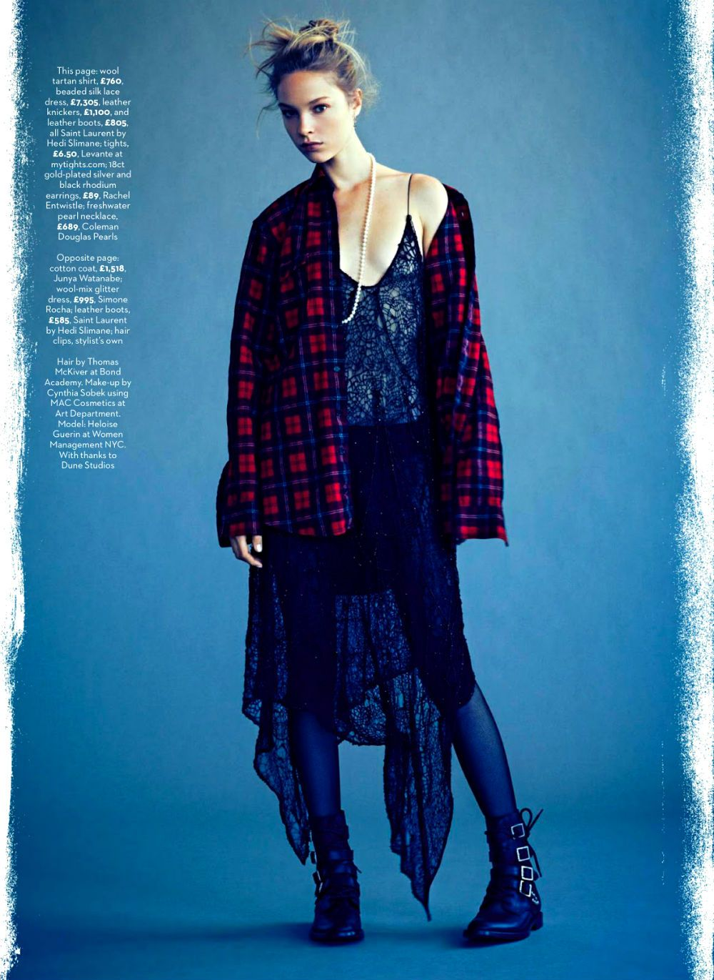 Heloise Guerin by James Macari for Marie Claire UK September 2013