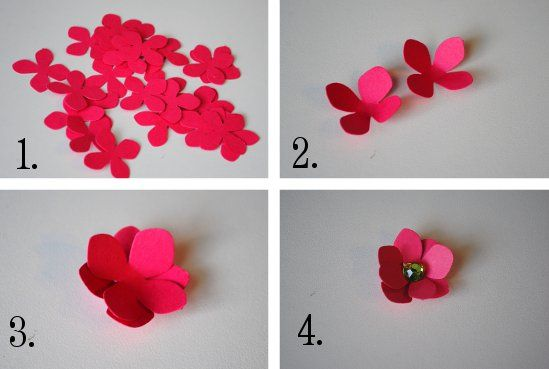 Sweet metel moments tutorial diy luau snack cups hawaii luau diy paper flower tutorial step by step instructions for making crepe paper roses lilies and marigold flowers mightylinksfo Choice Image
