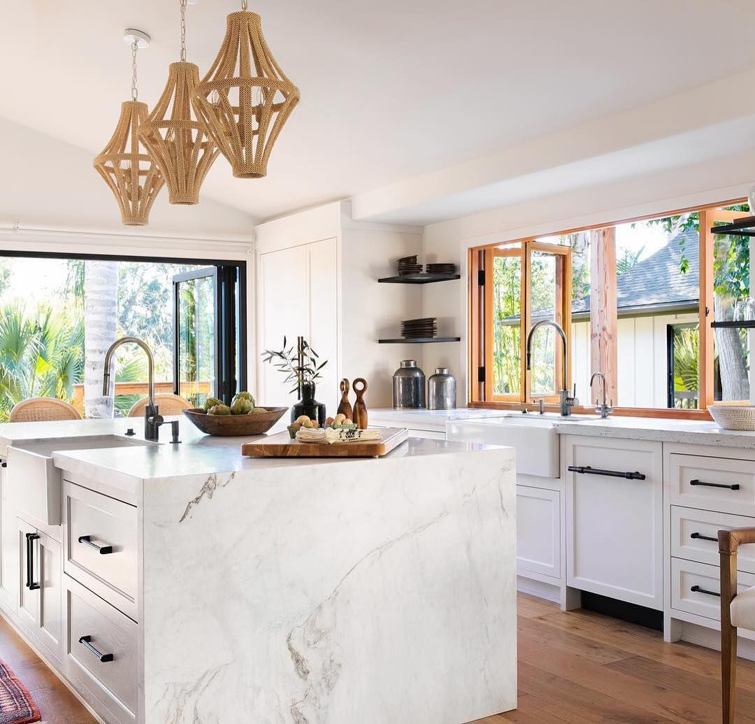 "Houzz Home Design Ideas: Houzz On Instagram: ""This Sunlight Filled Kitchen By"