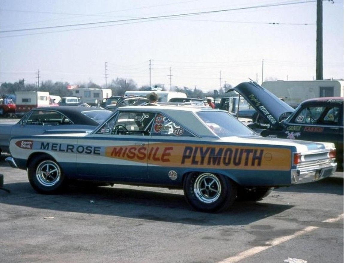 DiBari painted the car with the Missile paint scheme and got ...