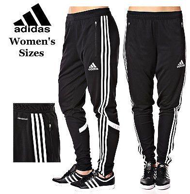 Women S Adidas Soccer Pants Tiro 15 Slim Fit Climacool Black Skinny Athletic Pantalones De Futbol Uniforme De Futbol Adidas Mujer