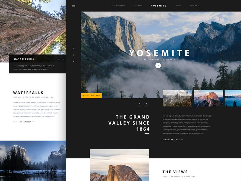 Yosemite Web Development Design Best Web Design Website Design Inspiration