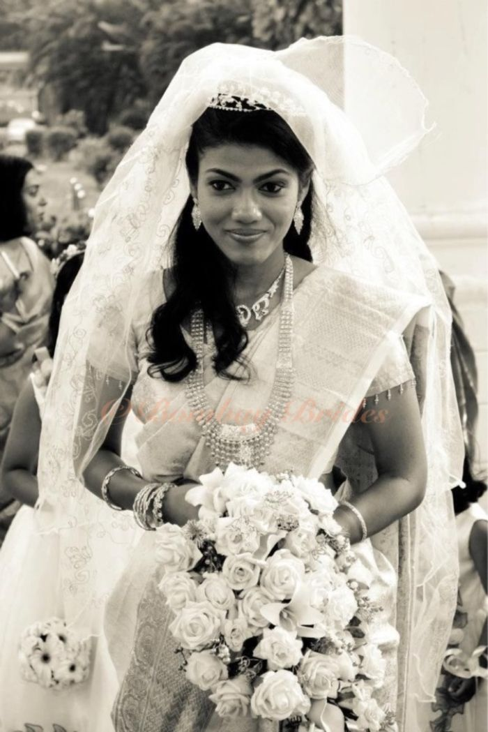 Indian christian bride