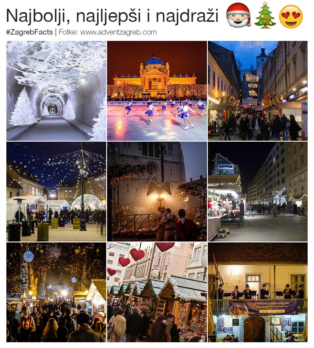 Najbolje Doba Godine Zagreb Zagreb Croatia Best Christmas Markets