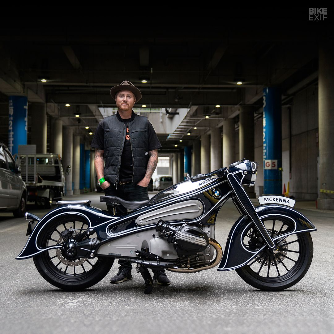 Mooneyes Report And A New 1800 Cc Bmw Motor Bike Exif