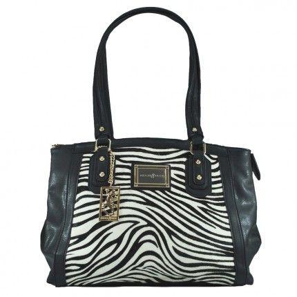 Para as amantes da combinação preto e branco: estampa de Zebra!