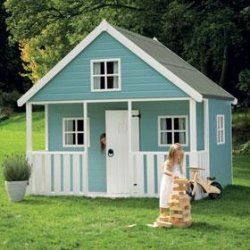 Turn Shed Into A Mini House For Children Or Nieces Nephews Play