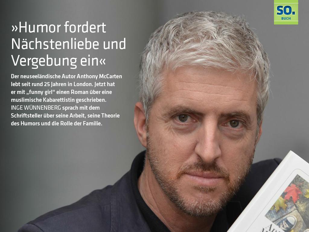 HAZ sonntag - das digitale Magazin Ausgabe vom 1. Juni 2014: »Humor fordert Nächstenliebe und Vergebung ein«