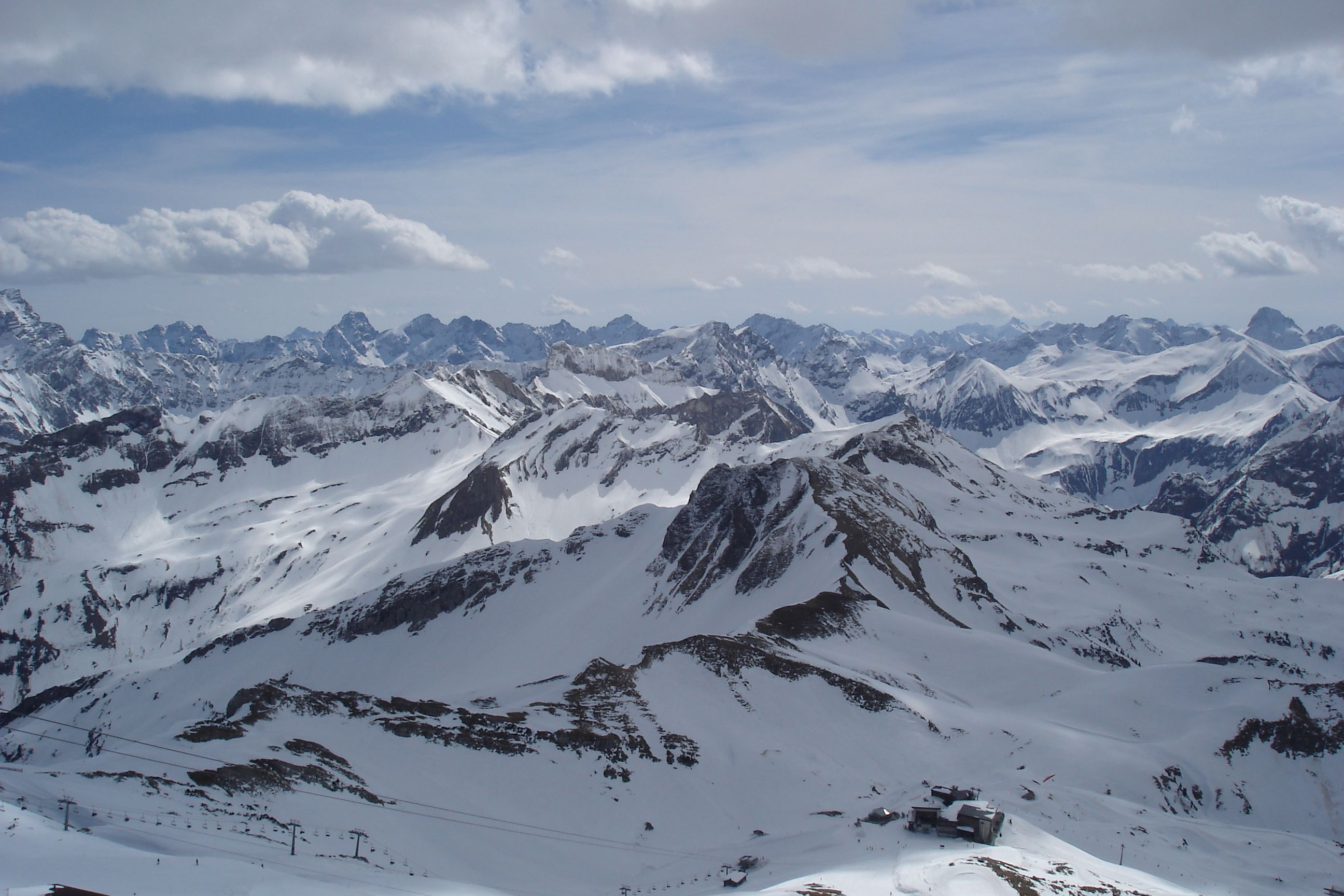 View from the top of the Nebelhorn Oberstdorf Germany [2592x1728] [OC]