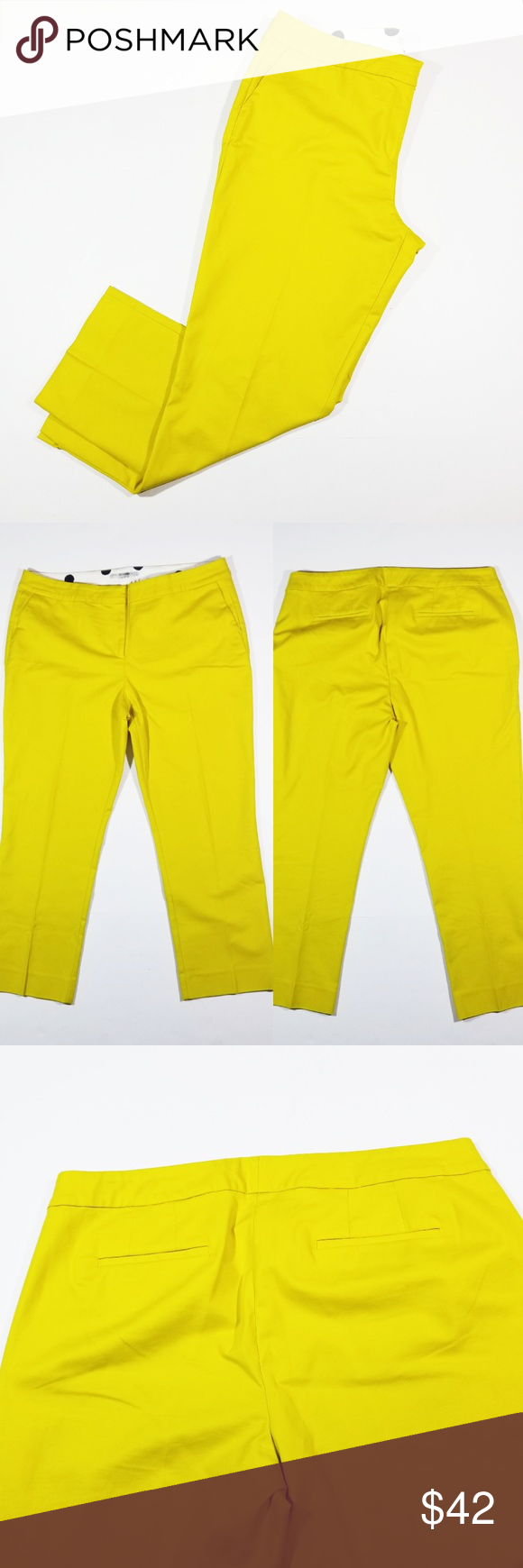 c459a2d9d890e Boden yellow green ankle pants size 14 Bright yellowish green ankle trousers  by Boden. Ankle split hem. Womens size 14. In excellent condition.