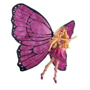 amazoncom barbie mariposa magic wings mariposa doll toys games