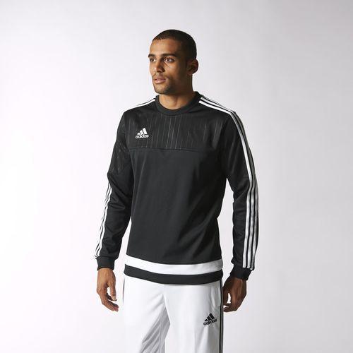 Sweatshirt AdidasMens Tiro15 Men BlackFooty SweatshirtsAdidas rhsQdtCxB