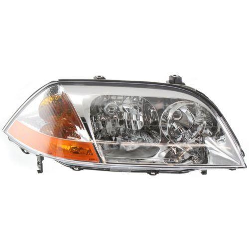 2001-2003 Acura MDX Head Light RH, Lens And Housing